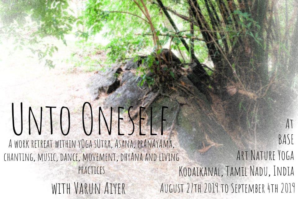 Unto Oneself yoga retreat